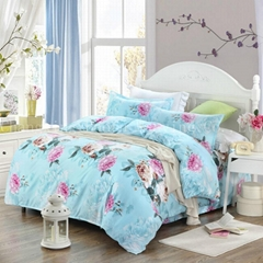 high quality bedding set with printing