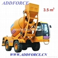 1 5m3 3 5m3 Self Loading Concrete Mixer Truck Price In India Lt3500