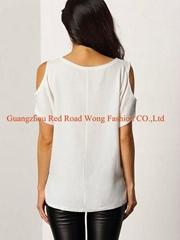 Wholesale fashion woman blouse casual wear blouse