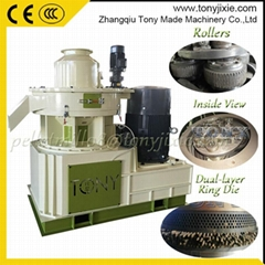 China Made High Quality Straw Rice Husk Wood Pellet Machine Price
