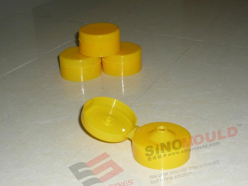 Flip-top Cap Mould of 8-cavity 3