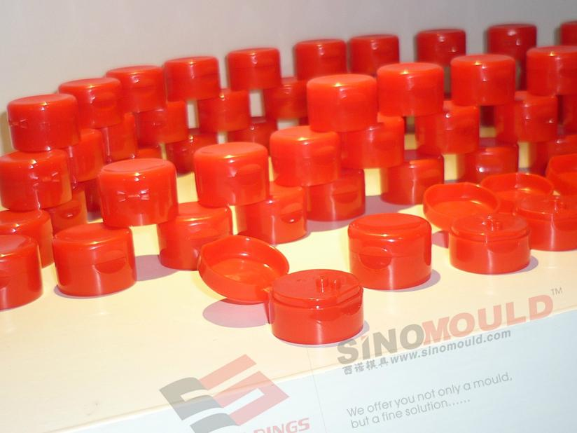 Flip-top Cap Mould of 8-cavity 1