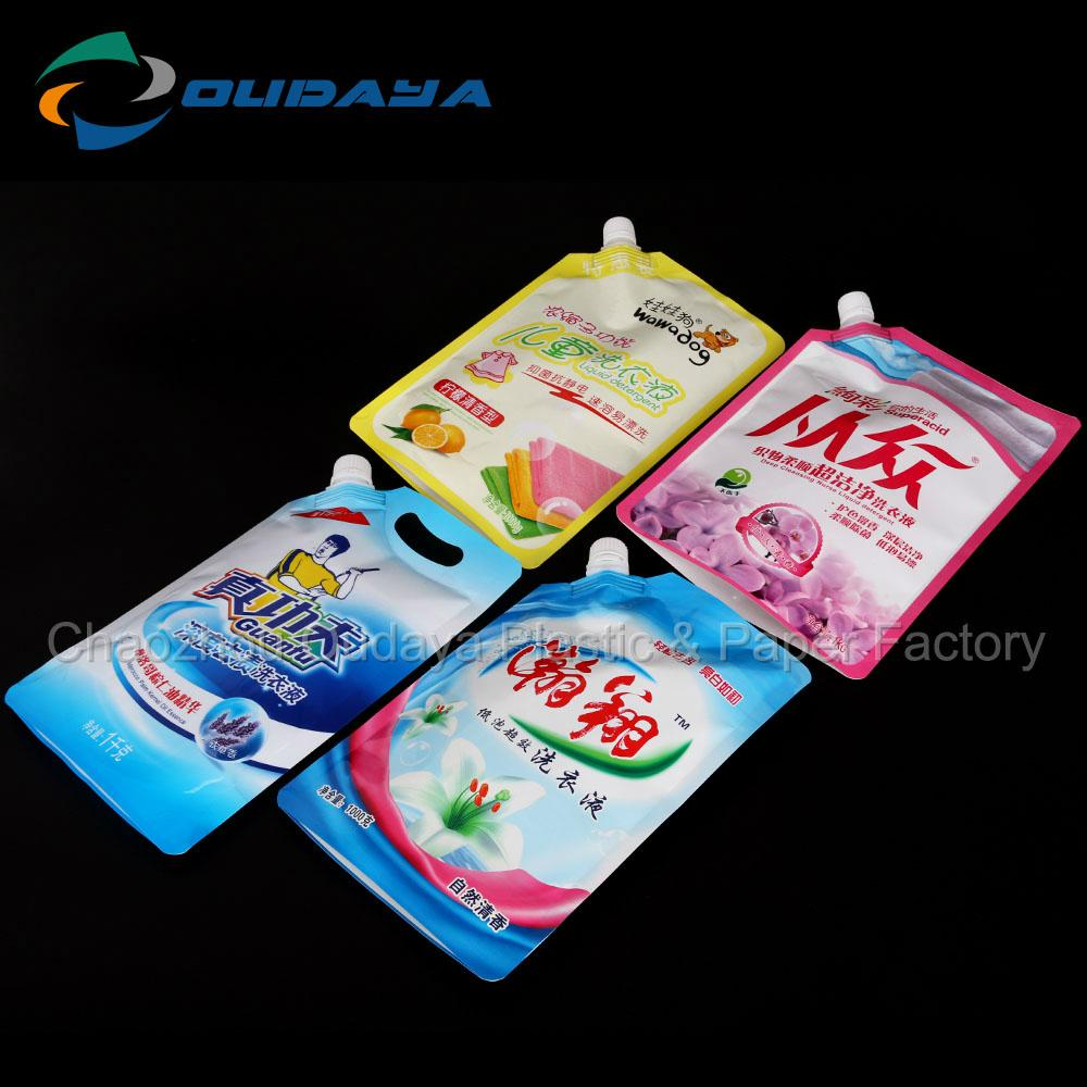 Detergent stand up pouch moisture proof 2