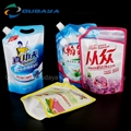 Detergent stand up pouch moisture proof