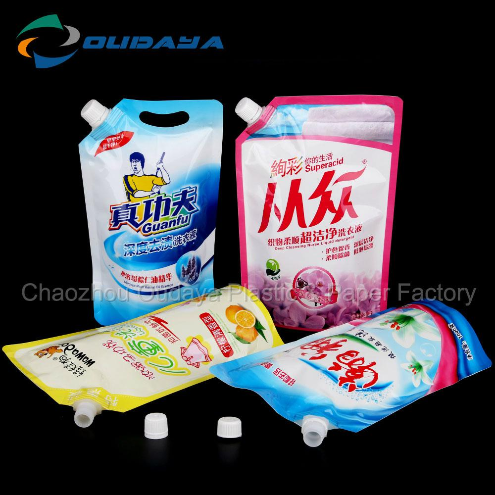 Detergent stand up pouch moisture proof 4