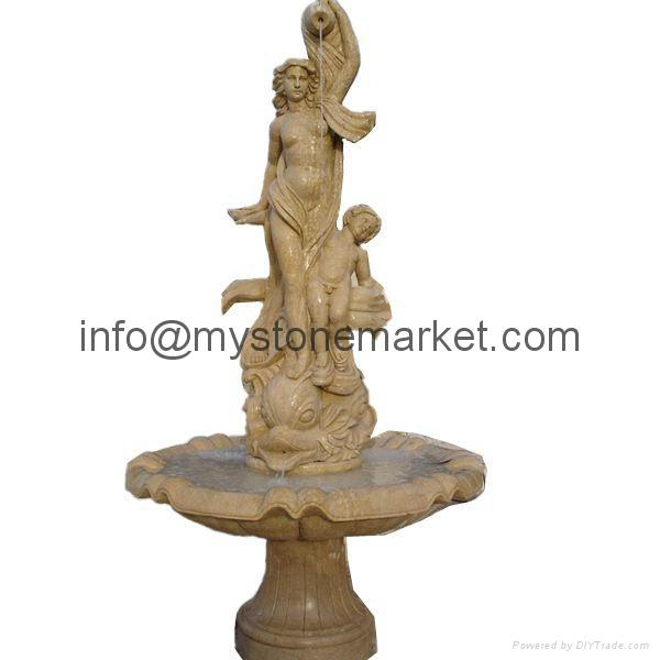Natural marble stone fountain for garden 1