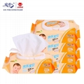 Antibacterial and alcohol free baby care  wet  wipes 1