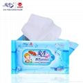 Best selling wholesale lemon scent restaurant wipe refreshing wet tissue paper  2
