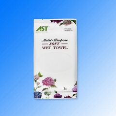 China factory supplier customized size  fragrance free microfiber wet towels