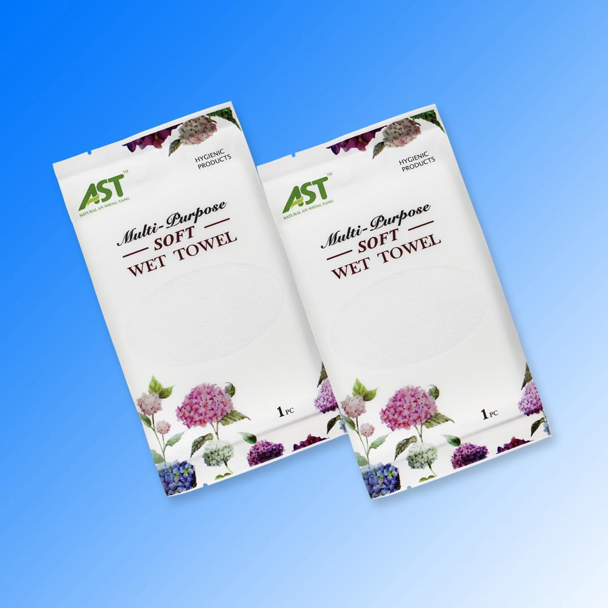 China factory supplier fragrance free microfiber wet towels  3