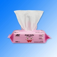 China factory OEM soft non-woven baby wet wipes