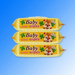 Private label alcohol free wholesale baby wet wipes