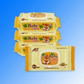 Private label alcohol free wholesale baby wet wipes  2