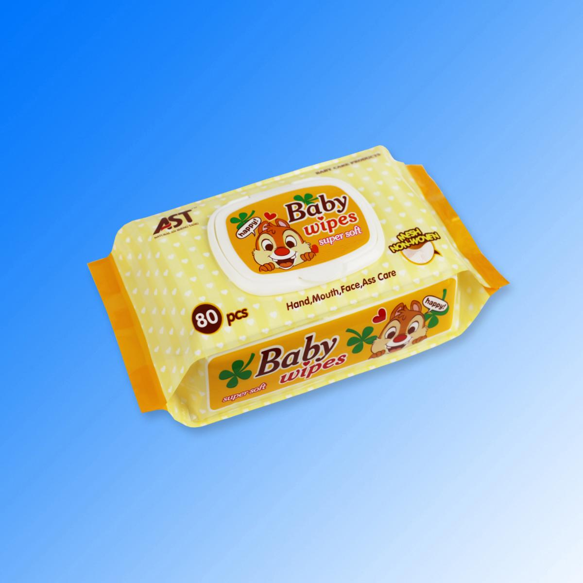 Private label alcohol free wholesale baby wet wipes  3