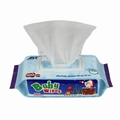 China factory OEM soft spunlace non-woven baby wet wipes  3