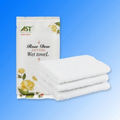 China factoty private label disposable wet towel