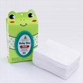 Spunlace skin care faxe pure water cleaning baby wet wipes  5