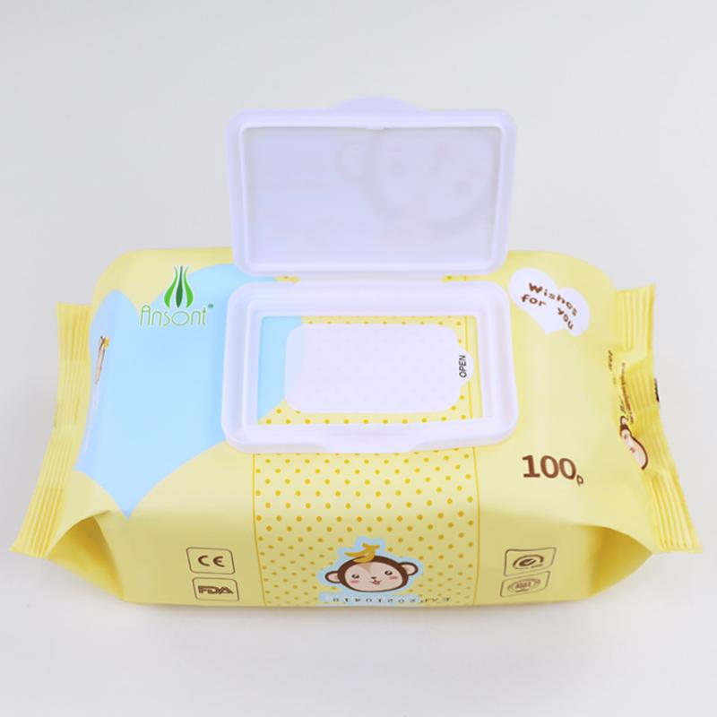 Baby flushable disinfectant antibacterial band facial cleaning 80 pcs water wipe 2