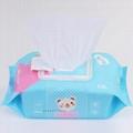 wholesale Customized fragrance120 pcs baby wet wipes  5