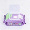China factory bamboo non-woven organic baby wet wipes  5