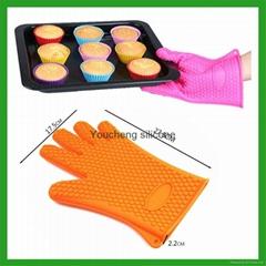 硅膠防燙手套
