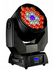 led stage lighting zoom wash 19x15w led moving head