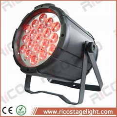 stage wash lighting fixture dmx 19x10w rgbw led par zoom