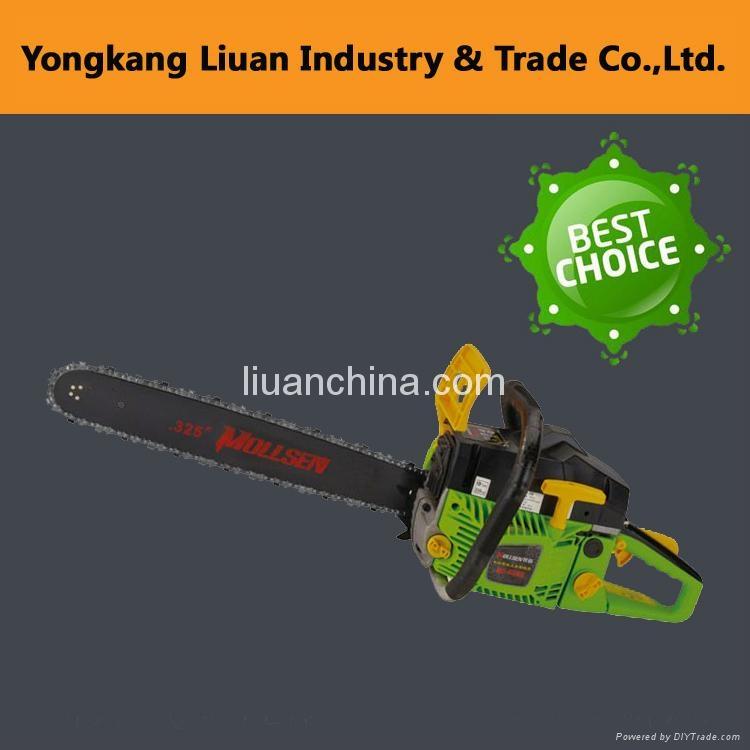 2016 gasoline chain saw 52cc 58cc l 3317 liuan for Best gardening tools 2016