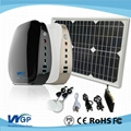 Low price China 10W potable solar energy system,solar power system for home