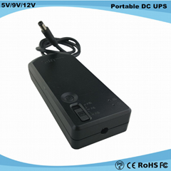Hot selling 5V/9V/12V mini UPS battery for Emergency Power System