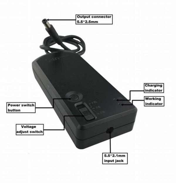 Hot Selling 5v 9v 12v Mini Ups Battery For Emergency Power