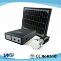 Portable solar panel system for remote