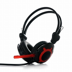 New  wired headband colorfull Computer headphones with microphone
