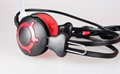 New  wired headband colorfull Computer headphones with microphone  5
