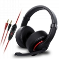 Elegant Wired PC Headset With Soft
