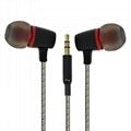 New fashion Metal earphone for iphone