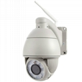 Ikevision IP008 Outdoor Wireless 720P PTZ Dome Waterproof Onvif P2P Camera IP