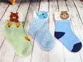 卡通提花童襪純棉寶寶襪