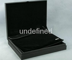 Anti-curl Black Rigid  Paper Board for wine packaging