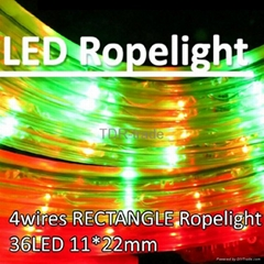 4 wires LED flexible Rec