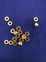 鍍金N35圓片釹鐵硼磁鐵