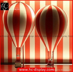 LV Display Giant Advertising Balloons Custom Fiberglass Window Display Prop