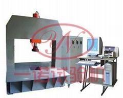 濟南一諾廠家直供高強鋼纖維水泥混凝土井蓋抗壓強度試驗機