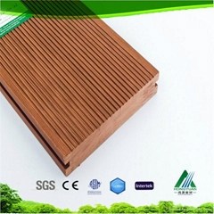 high quality pvc flooring wood wpc decking plastic composite production