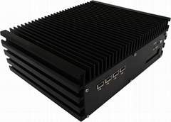 嵌入式双千兆网口I7无风扇工控机