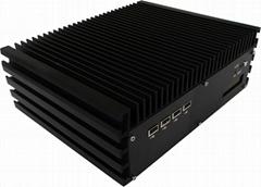 嵌入式雙千兆網口I7無風扇工控機