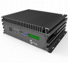 WQF-C6123  北京萬千峰  6網口COM-E無風扇嵌入式工控機