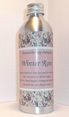 """Against hair loss and balding aromatherapy shampoo """"Winter Rose"""""""