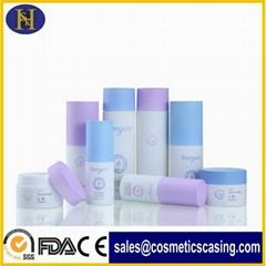 luxury plastic acrylic cream cosmetic bottles and jars set