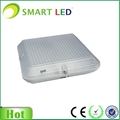 IP65 Square emergency led downlight with microwave sensor
